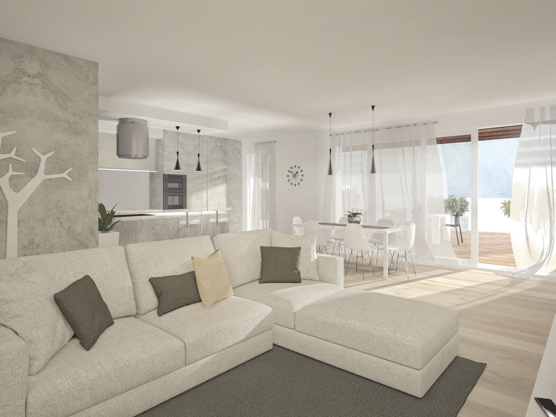 Olmo di martellago meraviglioso attico gotter immobiliare for App design interni