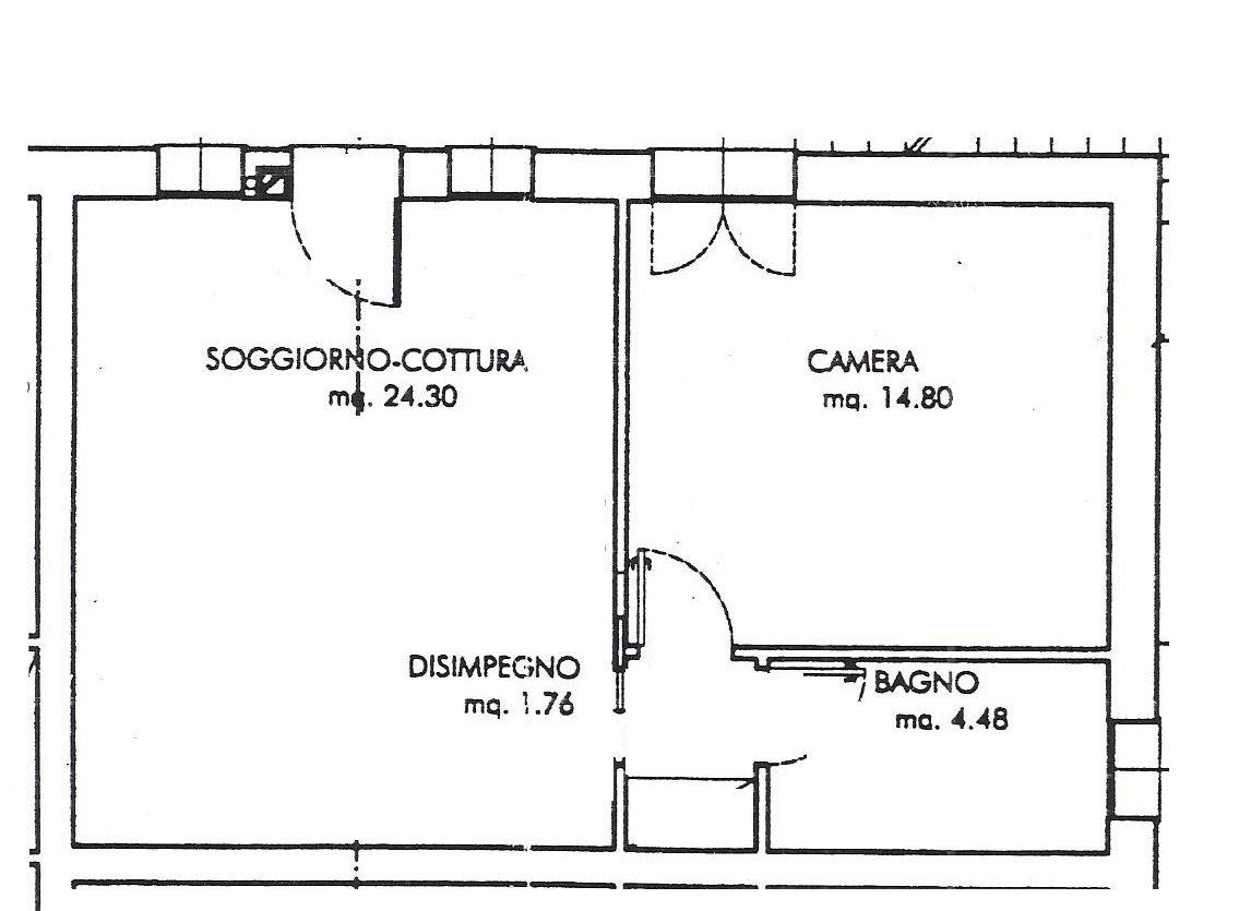Planimetria Casa Con Misure planimetria con misure - gotter immobiliare